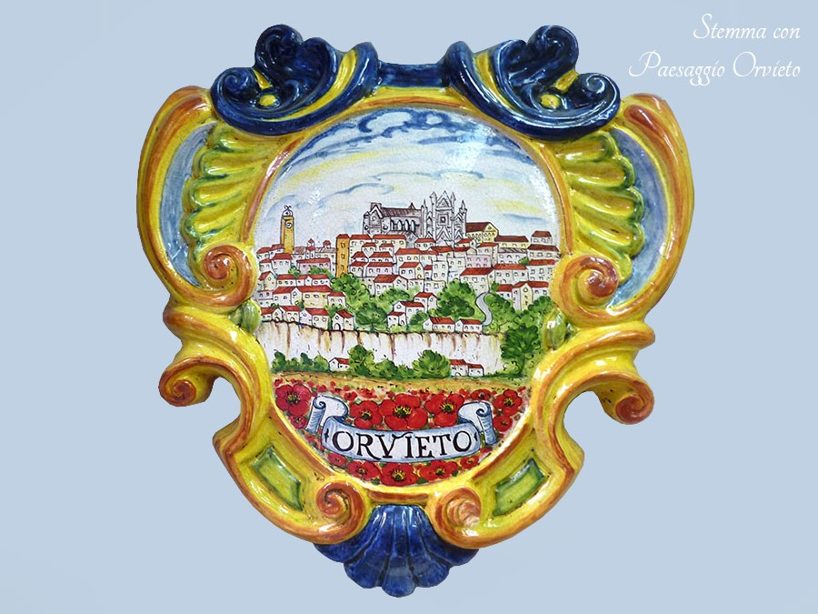 The ceramics of Orvieto.