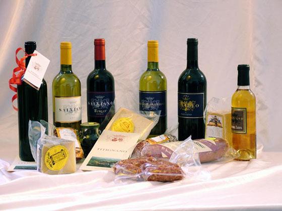 """Castiglione in Teverina, piccola """"capitale del vino""""."""