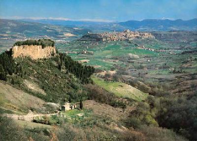 """Rocca Ripesena : la """"piccola Orvieto""""."""