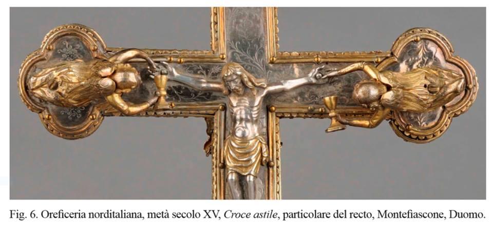 La croce astile del Duomo di Montefiascone.